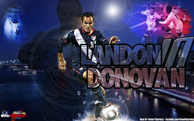 Los Angeles Galaxy Landon Donovan Football Wallpaper