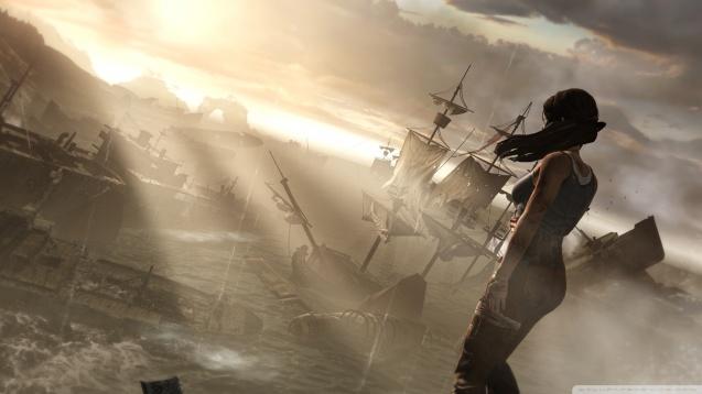 Lara Croft Survivor Tomb Raider HD Wallpaper