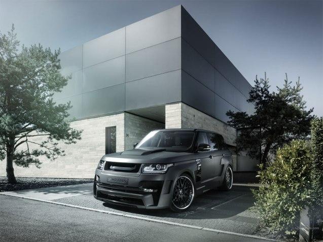 2014 Hamann Land Rover Range Rover Mystère Wallpaper
