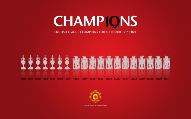 Manchester United Champions Wallpaper