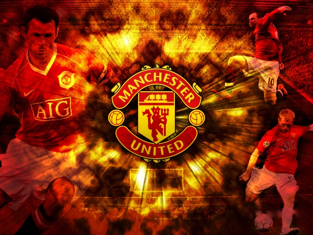 Manchester United Club Logo Wallpaper