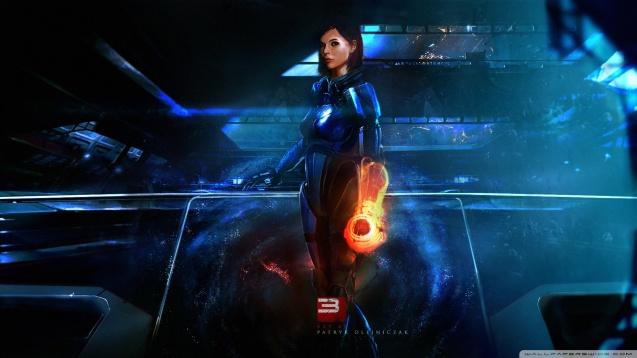 Mass Effect 3 Girl Wallpaper