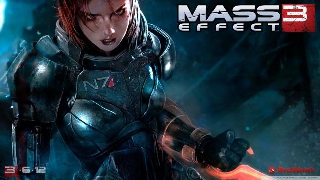Mass Effect 3 Female Shepard Wallpaper