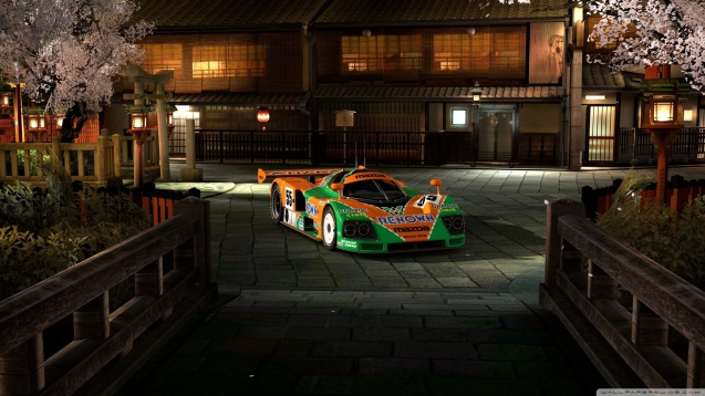 Gran Turismo Mazda 787B Supersport Wallpaper