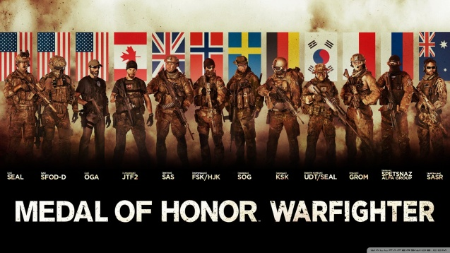 Medal of Honor Warfighter Tier 1 Special Forces Wallpaper