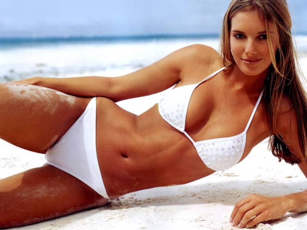 Megan McKenzie Bikini Wallpaper
