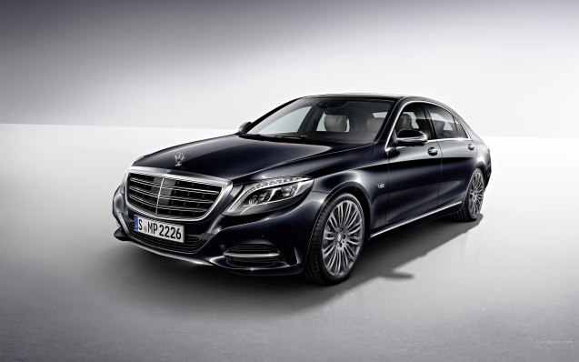 2015 Mercedes-Benz S600 Wallpaper