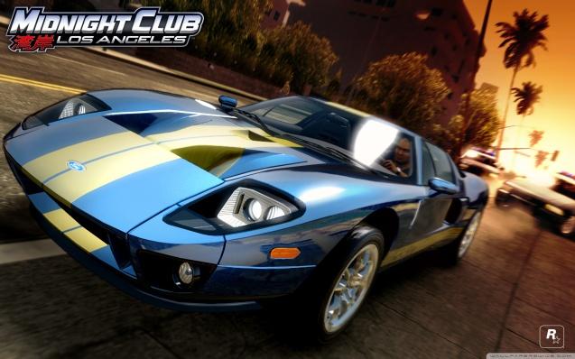Midnight Club Los Angeles Ford GT Wallpaper