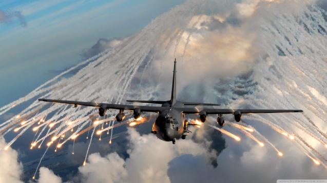 Military C-130 Hercules HD Wallpaper