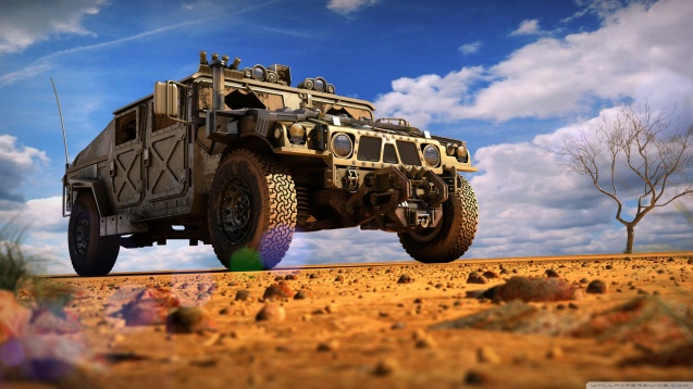 Military Hummer HD Wallpaper