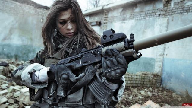 Most Beautiful Sniper Girl