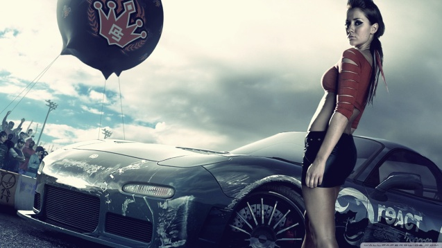 Sexy Babe Need For Speed Pro Street Wallpaper