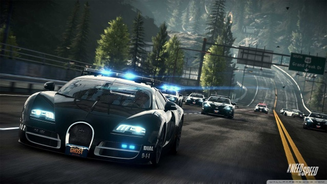 Need for Speed Rivals Bugatti Veyron Wallpaper