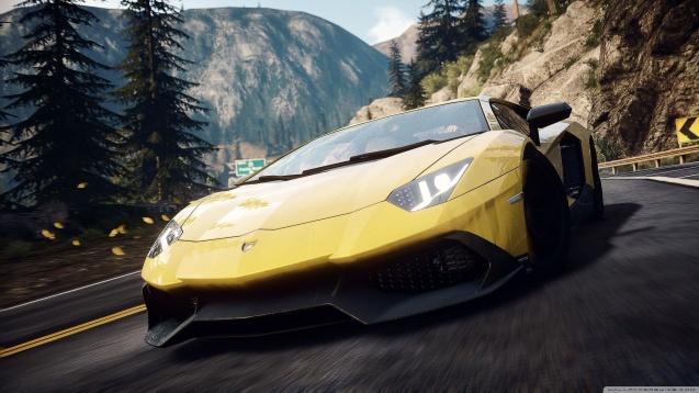 Need For Speed Rivals Lamborghini Aventador wallpaper