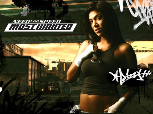 Need For Speed NFS Sexy Mechanic Girl HD Wallpaper