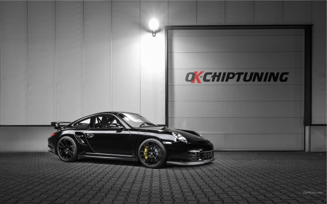 2014 OK-Chiptuning Porsche 911 GT2 Wallpaper