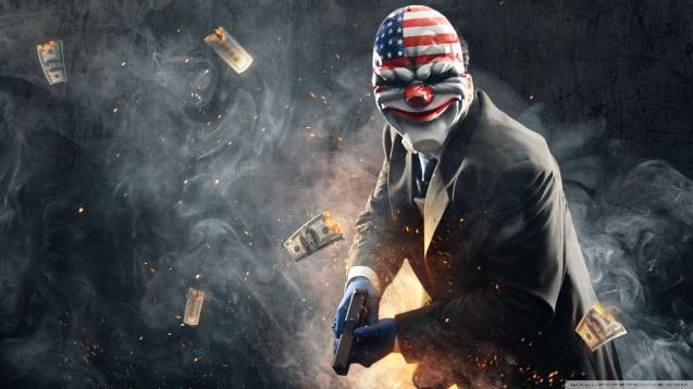 Clown Payday 2 HD Wallpaper