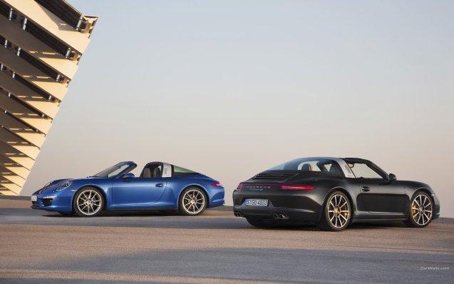 2014 Porsche 911 Targa Wallpaper