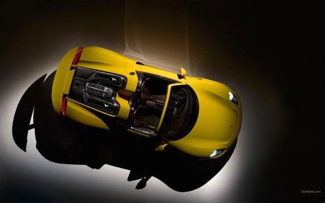 2014 Yellow Edition Porsche 918 Spyder Wallpaper
