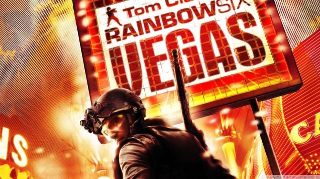 Tom Clancy's Rainbow Six Vegas HD Wallpaper