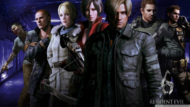 Resident Evil 6 Characters HD Wallpaper