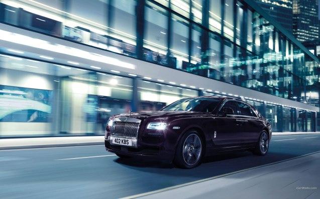 2015 Rolls Royce Ghost V-Specification Wallpaper