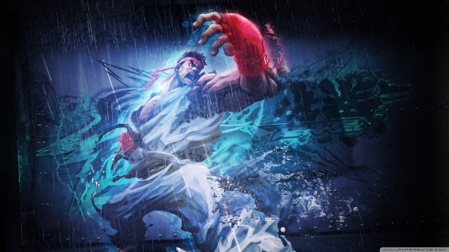 Ryu in the Street Fighter HD Wallpaper