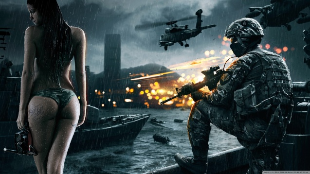 Sexy Battlefield 4 Wallpaper