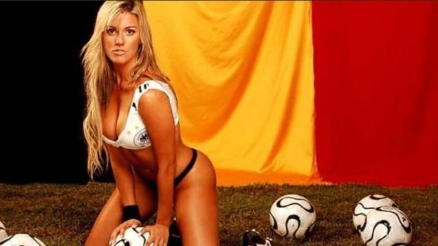 Sexy German Babe HD Wallpaper