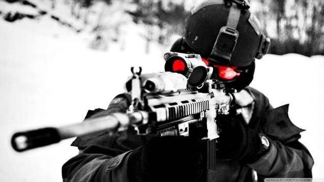 US Sniper HD Wallpaper