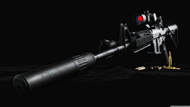 Sniper Rifle HD Wallpaper