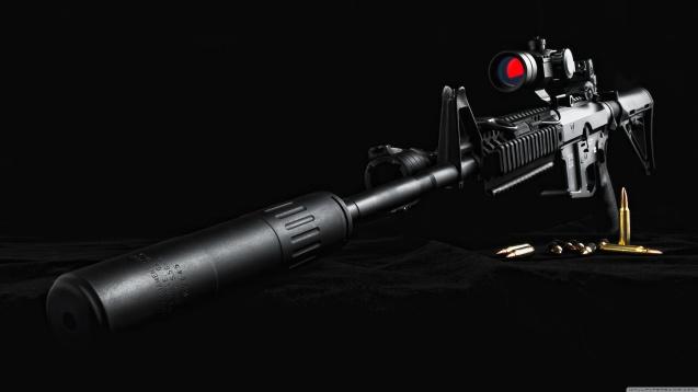 Sniper Rifle HD Wallpaper