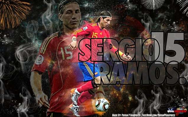 Spanish National Football Team Sergio Ramos Wallpaper