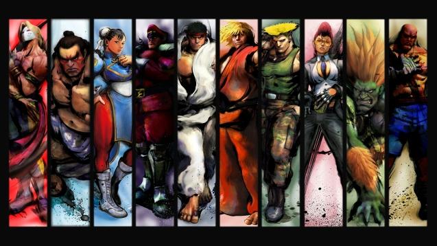 Street Fighter 4 HD Wallpaper