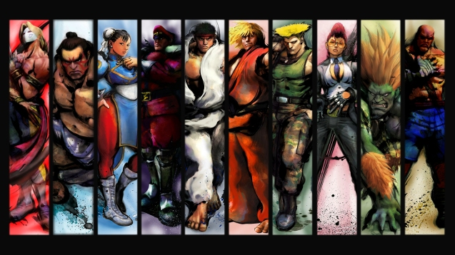 Street Fighter 4 HD Wallpaper