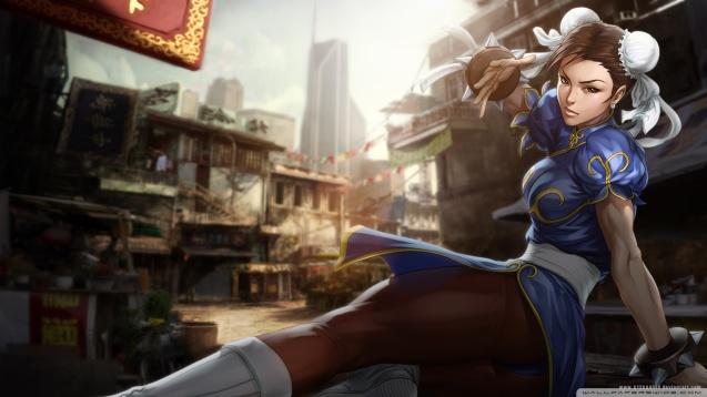 Street Fighter Chun Li HD Wallpaper