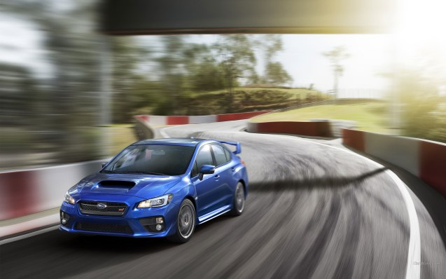 2015 Subaru WRX STI Wallpaper