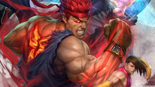 Super Street Fighter Arcade Edition HD Wallpaper