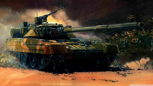 Tank Camouflage Painting HD Wallpaper
