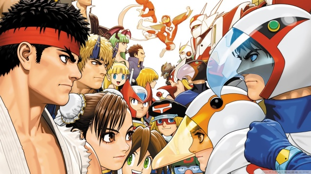 Tatsunoko vs Capcom HD Wallpaper