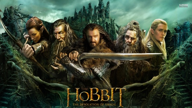 The Hobbit The Desolation of Smaug HD Wallpaper