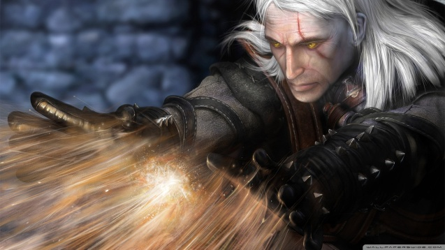 The Witcher HD Wallpaper