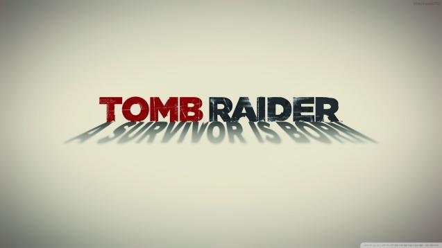 Tomb Raider White Poster HD Wallpaper