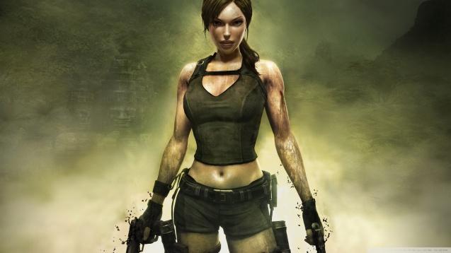 Lara Croft  Tomb Raider Underworld 3 HD Wallpaper