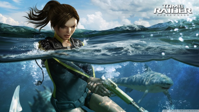 Lara Croft Tomb Raider Underworld HD Wallpaper