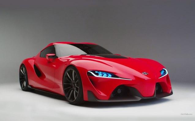 2014 Toyota F-1 Concept Wallpaper