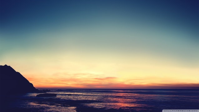 Tranquil Sunset HD Wallpaper