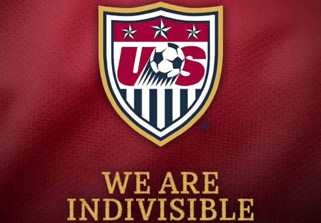 U.S. Soccer We Are Indivisible Wallpaper