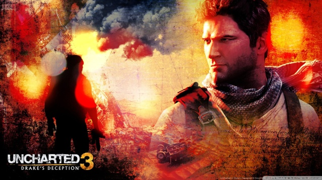 Uncharted 3: Drake's Deception HD Wallpaper