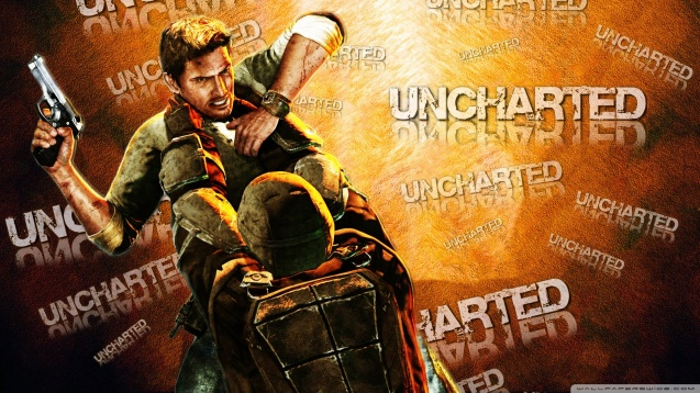 Uncharted Orange HD Wallpaper
